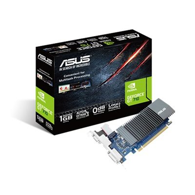 CARTE VIDEO ASUS GEFORCE GT710 1GO GDDR5 (SILENT)