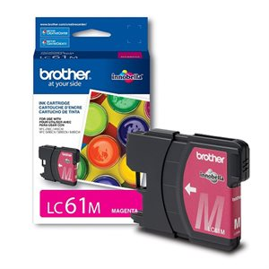 CARTOUCHE BROTHER MAGENTA #LC61MS