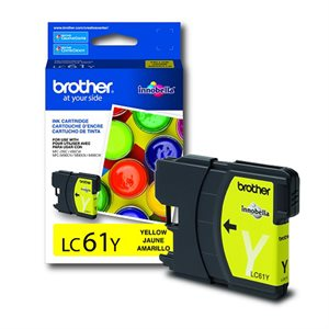 CARTOUCHE BROTHER JAUNE #LC61YS