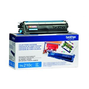 CARTOUCHE LASER BROTHER #TN210C CYAN (1400 PAGES)