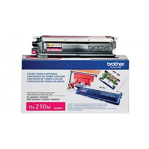 CARTOUCHE LASER BROTHER #TN210M MAGENTA (1400 PAGES)