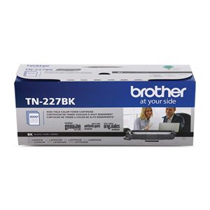 CARTOUCHE LASER BROTHER #TN227BK NOIR (3000PAGES)