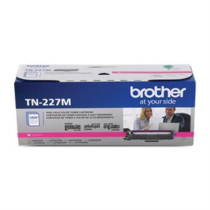 CARTOUCHE LASER BROTHER #TN227M MAGENTA (2300PAGES)
