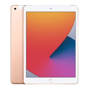 APPLE iPAD 10,2PO OR 128GO (WiFi + CEL) 2020